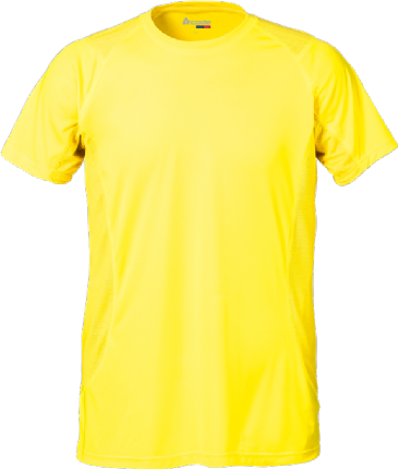 Fristads Acode Coolpass T-Shirt 1921 COL (Bright Yellow)